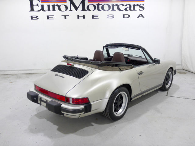 2dr Cabriolet 1989 911 Carerra Carrera Convertible