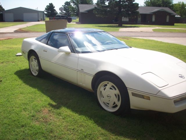 35 anniversary edition corvette for sale chevrolet corvette 1988 for sale in sayre oklahoma. Black Bedroom Furniture Sets. Home Design Ideas