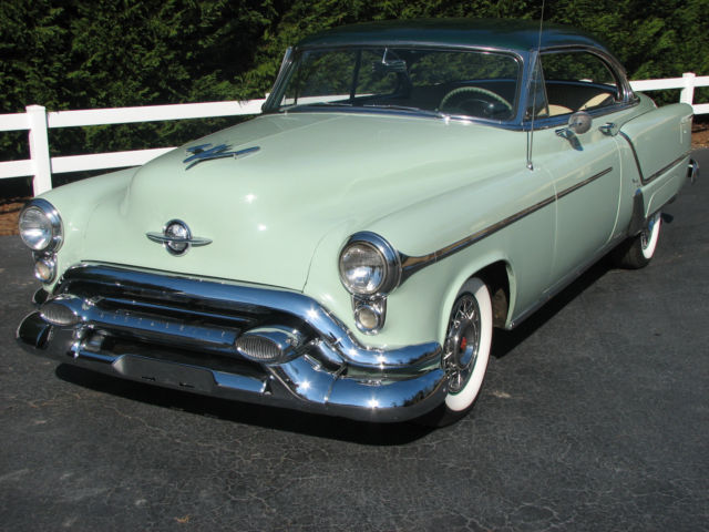 53 oldsmobile 98 holiday hardtop coupe for sale. Black Bedroom Furniture Sets. Home Design Ideas