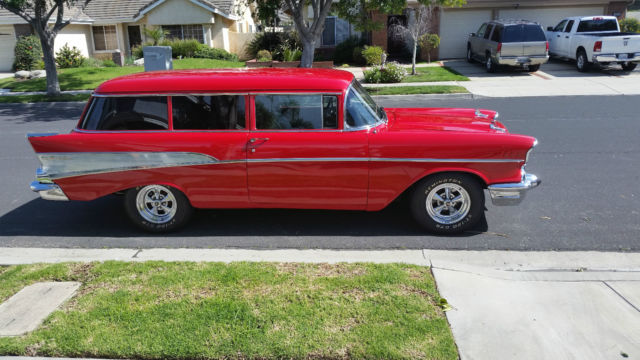 Interior clear glass door - 57 Chevy 210 2 Door Wagon Don T Miss A Chance To Own A