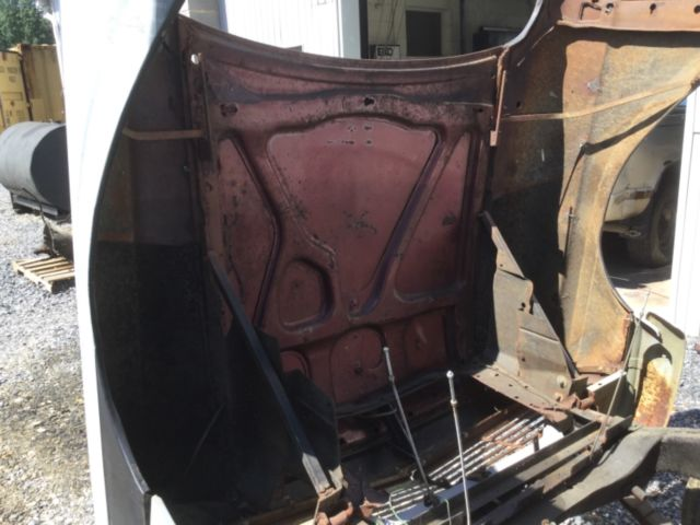 57 Ranchero  Gasser! Tilt front end Ford Rat Rod, Custom
