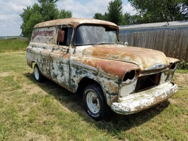 58 Chevy Pickup Project 59 55 56 57 Original Patina For