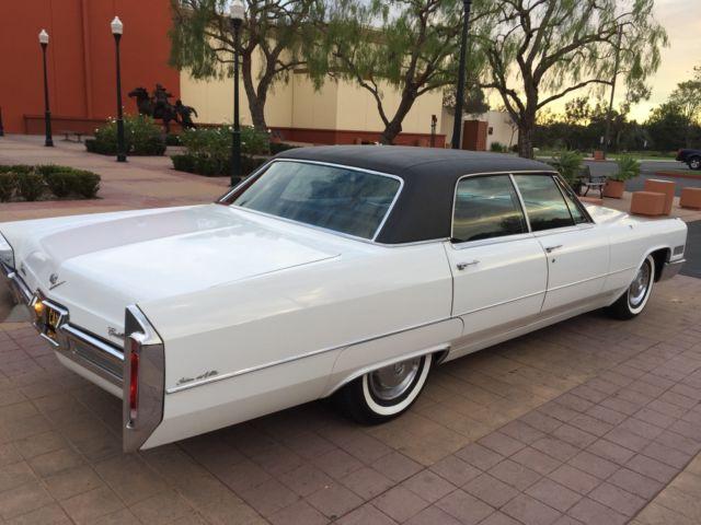 60k Original Miles 1966 Cadillac Sedan Deville For Sale