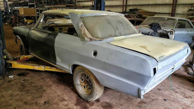 62 Chevy Nova, 2 Door Hardtop Great Project Car Lots New