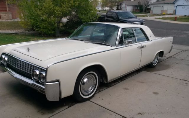 1963 Lincoln Continental Repair Manual