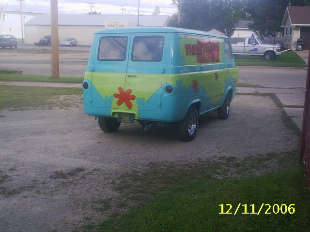 64 ford van 8 door scooby doo mystery machine for sale ford other 1964 for sale in new. Black Bedroom Furniture Sets. Home Design Ideas