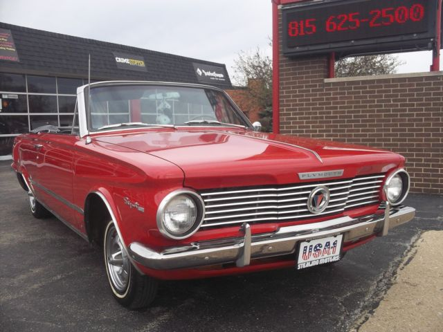 64 PLYMOUTH VALIANT SIGNET 200 CONVERTIBLE 225 CI 6 CYLINDER PUSH
