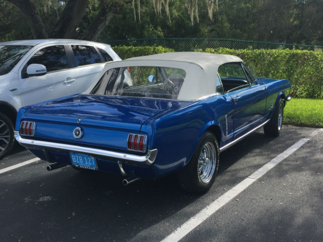 65 mustang convertible numbers matching for sale ford mustang 1965 for sale in riverview. Black Bedroom Furniture Sets. Home Design Ideas