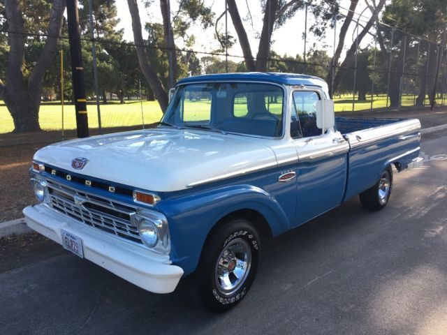 66 Ford F100 Twin I Beam V8 352 For Sale