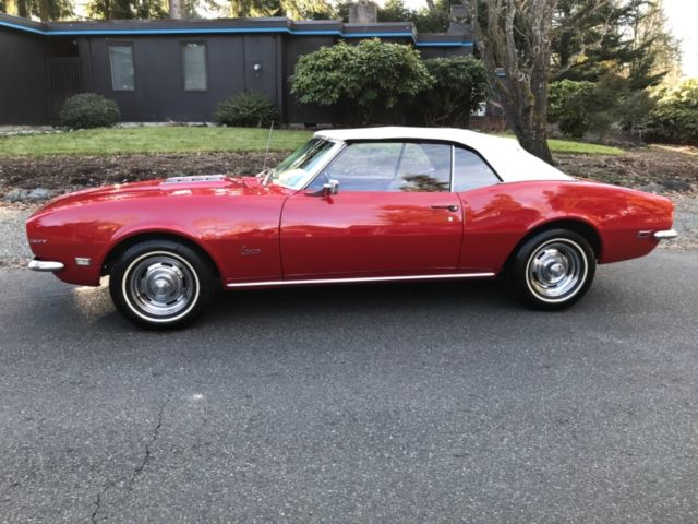 67 68 69 camaro convertible matching numbers 4 speed stick shift 327 rust free for sale. Black Bedroom Furniture Sets. Home Design Ideas