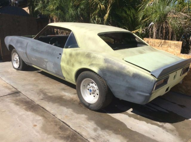 67 69 Camaro Project Car For Sale