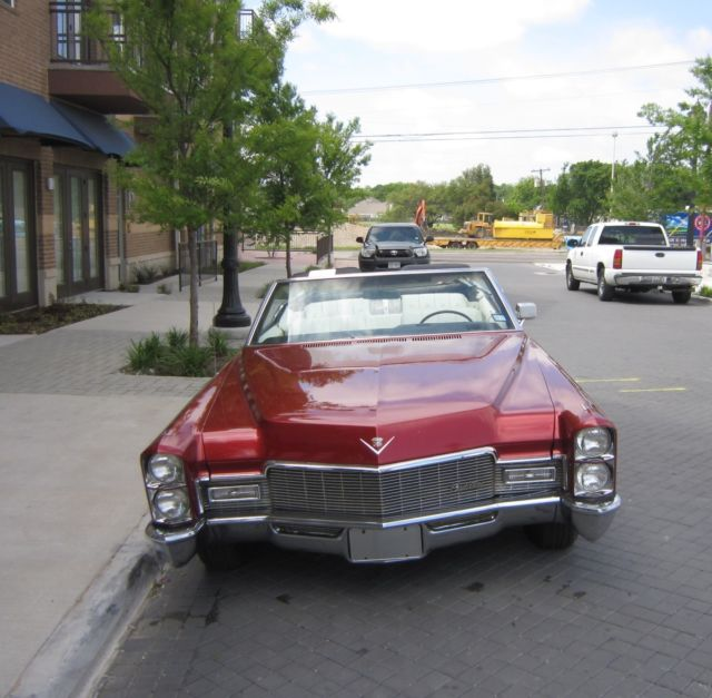 Cadillac 500 For Sale: 68 Cadillac DeVille Convertible