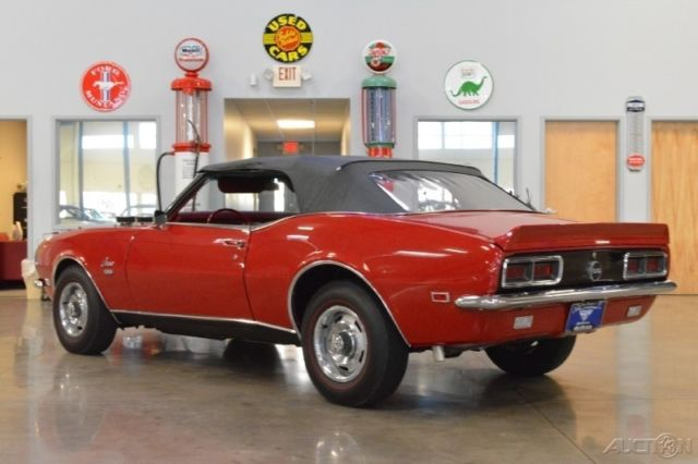 68 Chevrolet Camaro SS RS Convertible Numbers Match 396ci
