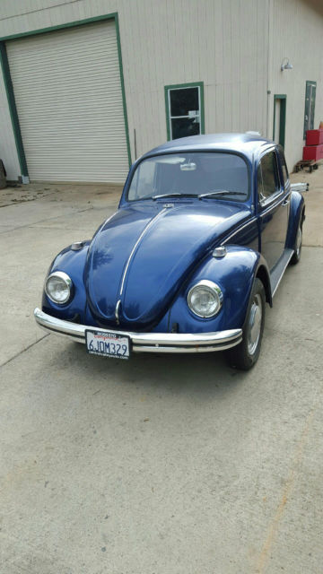 Vw Elk Grove California >> 68 VW BUG Need TLC, But with lots of Extras for sale - Volkswagen Beetle - Classic 1968 for sale ...