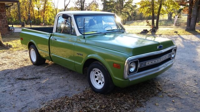 69 c10 chevy pickup for sale chevrolet c 10 1969 for sale in asher oklahoma united states. Black Bedroom Furniture Sets. Home Design Ideas