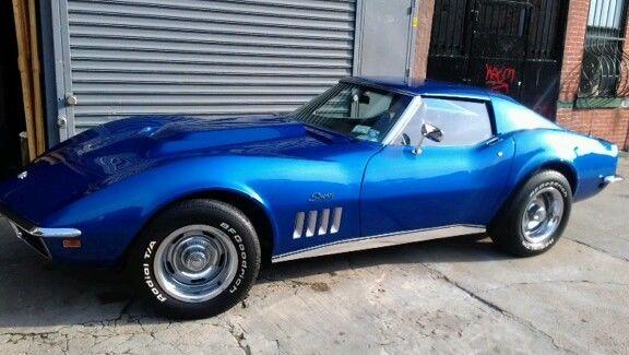 69 corvette stingray pearl blue 4 speed for sale chevrolet corvette stingray 1969 for sale. Black Bedroom Furniture Sets. Home Design Ideas