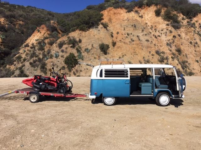69 Custom Vw Bus Camper Westfalia Ca For Sale