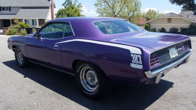 Mopar E Body 70 Barracuda Aar Challenger Ta Hood To Radiator