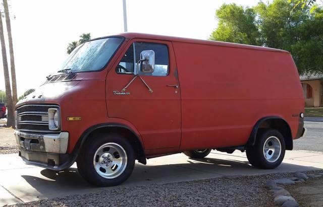 Dodge Van Racing >> 70s style Custom B200 Shorty Hilti Racing Theme Van for sale - Dodge Ram Van B200 Tradesman 1976 ...