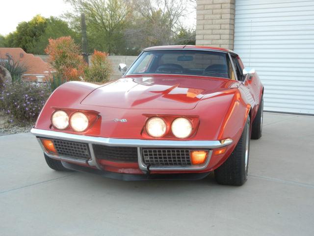 72 Corvette Stingray For Sale Chevrolet Corvette 1972