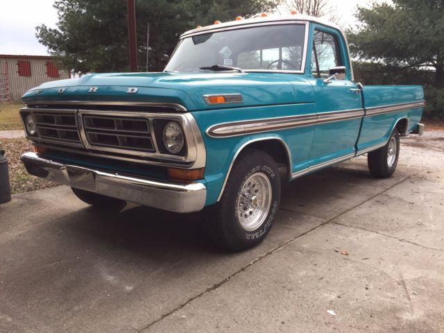 72 ford f100 ranger xlt for sale ford f 100 8 ft bed 1972 for sale in sunman indiana united