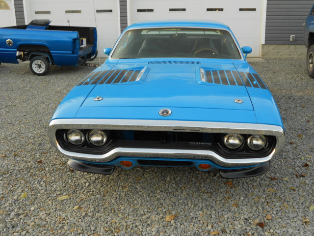 72 Plymouth Roadrunner For Sale Plymouth Road Runner