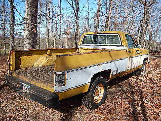 73 CHEVY LONGBED PICKUP SAME OWNER 41 YEARS, BARN FIND ...