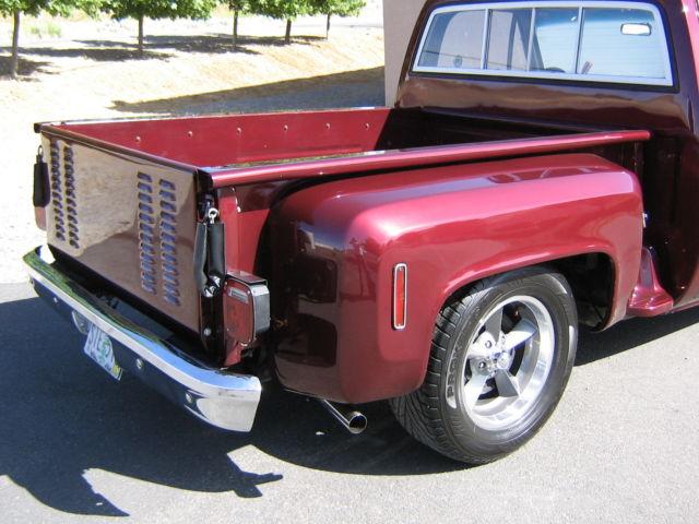 75 76 77 78 1977 C10 Chevy Stepside Scottsdale Pickup West