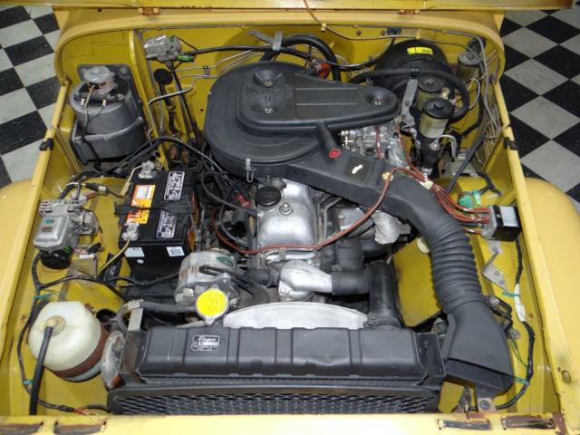 76 Toyota Fj40 Land Cruiser 4x4 Hardtop 98k Original Miles
