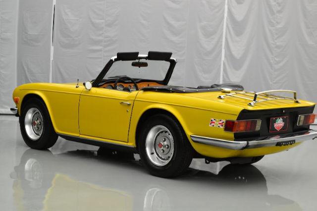 76 Triumph TR6 2 5Liter(2498cc) 6 Cylinder Manual 4-Spd