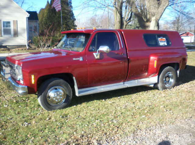 77 chevy dually