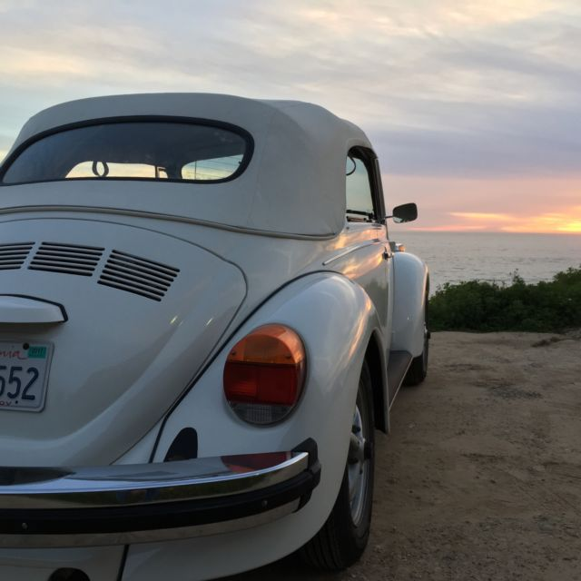 Vw 1600 Beetle For Sale: 77 VW Super Beetle Convertible. For Sale