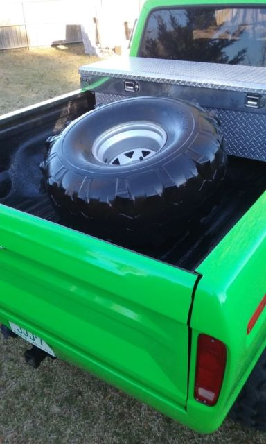 """73 79 Ford Truck Bed For Sale >> 78 1978 Ford F150 Custom 73 - 79 Lifted Monster Truck 4x4 460 12"""" lift on 44s for sale - Ford F ..."""