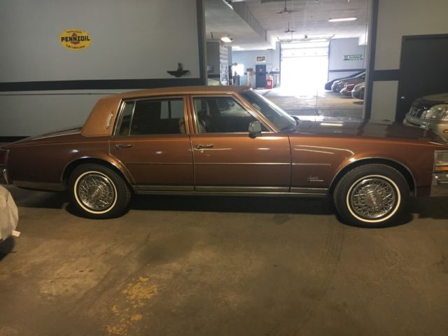 Catalytic Converter Buyers >> 78 Seville Unique Burnt Rust Color for sale - Cadillac ...