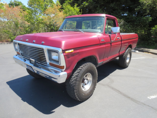 79 1979 ford f150 4x4 4 speed short bed california truck no rust for sale ford f 150 1979 for. Black Bedroom Furniture Sets. Home Design Ideas