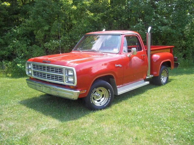 79 Dodge Lil Red Express truck, Little Red Express ~ SURVIVOR ! ~ for sale - Dodge Other Pickups ...