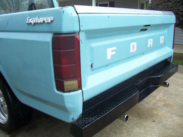 81 Ford F100 Rat Rod Hot Rod V8 Torque Thrust Bargin For