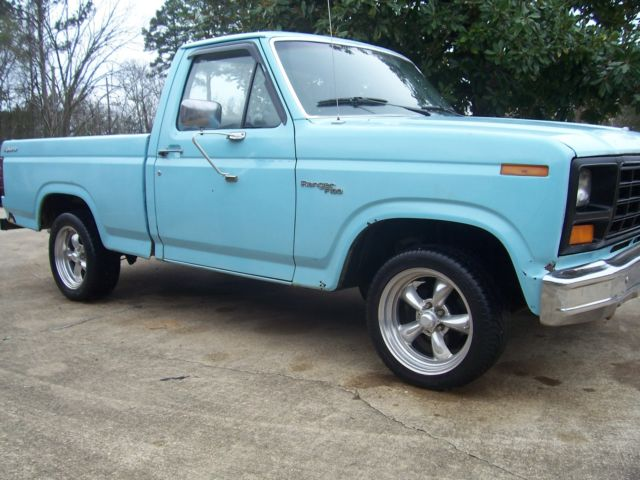 81 Ford F100 Rat Rod Hot Rod V8 Torque Thrust Bargin For