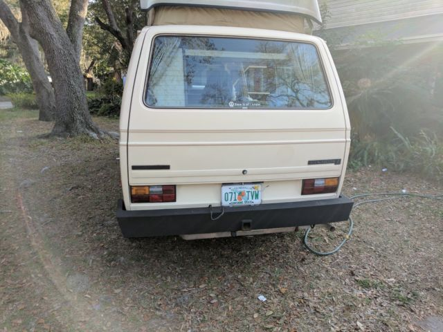 82 vw westfalia camper for sale  vanagon