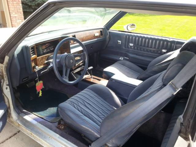 84 Chevy Monte Carlo Ss Excellent Project Car Redo And Make Big Bucks For Sale Chevrolet