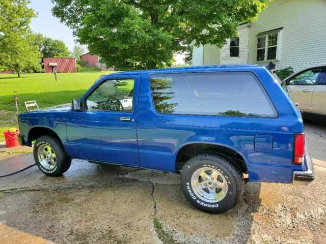 84 Chevy S10 Blazer 2wd V8 Conversion Low Reserve For Sale Chevrolet S 10 2 Wd 1984 For Sale In Andover Ohio United States