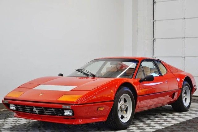 84 ferrari 512bbi in rosso corsa 5 speed 15 700 miles for. Black Bedroom Furniture Sets. Home Design Ideas