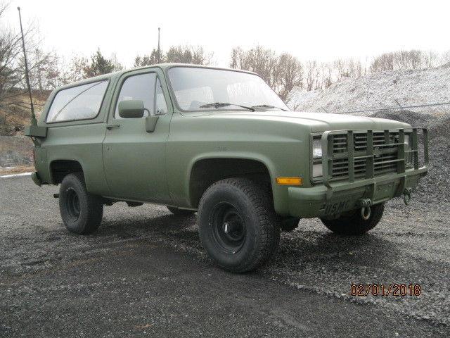 2f87dce594 84  Chevy K5 Blazer CUCV M1009 Military Vehicle for sale - Chevrolet ...