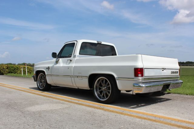 Chevy Dealer Miami >> 87 Chevy C10 Shortbed Fleetside PU. Low Miles. Amazing Condition! Clean Carfax. for sale ...