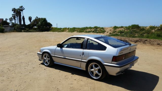 87 honda crx si jdm b16a legal swap ca bar near mint condition 75k miles for sale honda. Black Bedroom Furniture Sets. Home Design Ideas