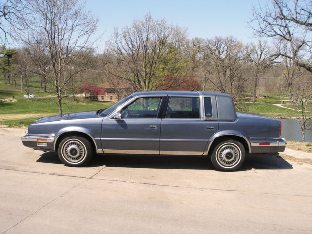 91 Chrysler New Yorker Fifth Avenue Mark Cross Special Edition 33611 Miles