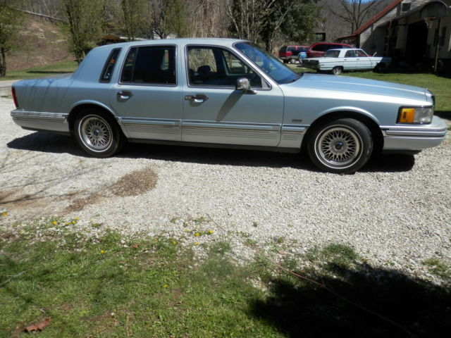91 Lincoln Continental Signiture Series For Sale Lincoln