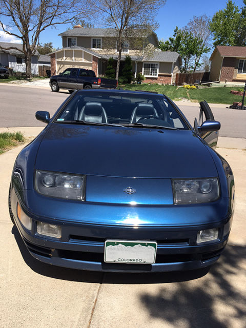 93 nissan 300zx twin turbo sapphire blue for sale nissan 300zx 1993 for sale in littleton. Black Bedroom Furniture Sets. Home Design Ideas
