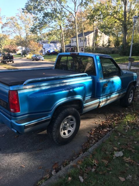 94 Chevy 4 4 Stepside Short Bed Pickup For Sale
