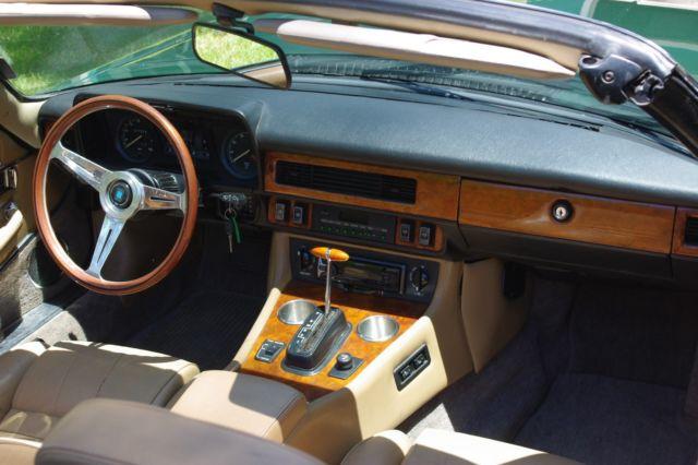 a rare 1989 jaguar xjs v 12 rebuilt ground up mechanically interior exterior for sale jaguar. Black Bedroom Furniture Sets. Home Design Ideas